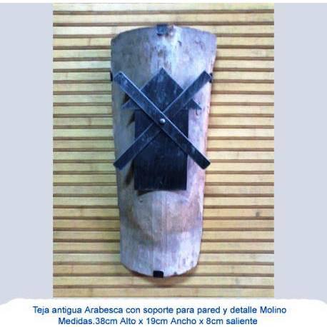 Piastrelle in ferro battuto. arredamento in ferro battuto. Articoli da regalo di pezzo fucinato. Mulino di scandole