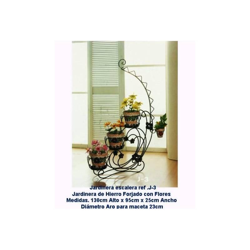 Jardineras de forja maceteros de forja r sticos for Maceteros rusticos para jardin