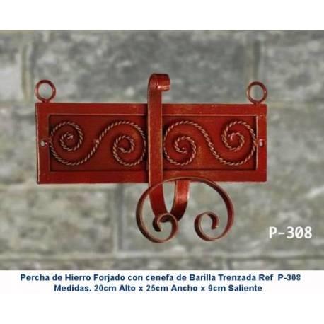 Appendiabiti in ferro battuto. Appendiabiti in ferro battuto rustico. Classic