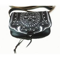 Bolso de amazona en cuero. resistente. hecho a mano. diseño vintage. regalar. exclusividad