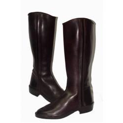 Botas de cowboy suave. em couro. Clássico. feito à mão. projeto vintage. Compro. exclusividade