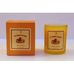 Velas de colección con miel del tilo, velas perfumadas