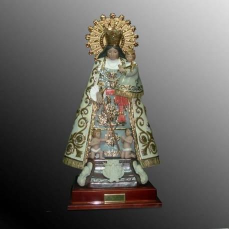 Figura de porcelana Virgen del Carmen