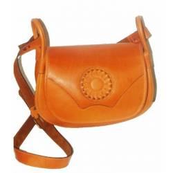 Lady Leder Handtasche. mit Rose. handgemacht. Klassische Mode. kaufen. limitierte Serie berlin