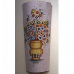 Tuile décorative de peintes à la main