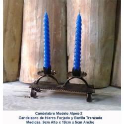 Decoración Forja. Artículos regalo de Forja. candelabros