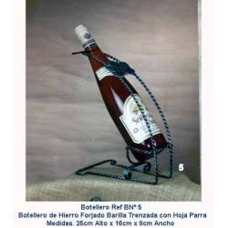 Wine Bottle rack wrought iron. elegant. paris. buy