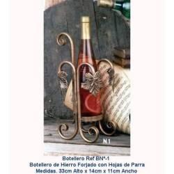 Casier à vin en fer forgé. Classique. à la main. rustique. design