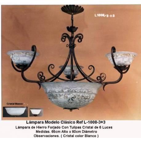 Lampade in ferro battuto, classici e rustici