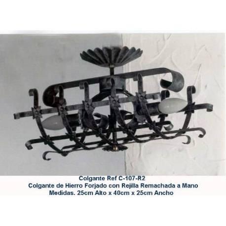 Schmiedeeisen rustikale Lampen. dekoration