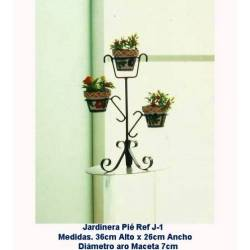 Planters wrought iron, forged Planters, Planters hang wrought iron. J-1