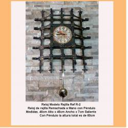 Watches forged. Watches Rustic Wrought iron. R2. medieval