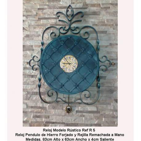 Relojes de forja. Relojes Rústicos de Forja. clásico