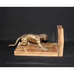 Bronze sculpture. Bookends bronze panther. texas. to buy. gifts. design