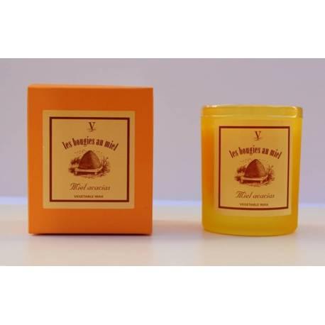 Velas aromáticas, colección acacias, esencias de miel. madrid. comprar. hecho a mano