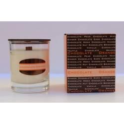 Colección bonheur chocolate chocolate orange , velas aromáticas