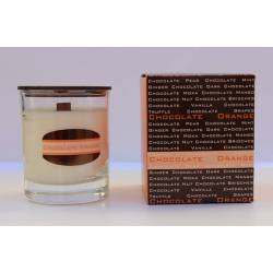 Collection bonheur chocolate chocolate orange, scented candles