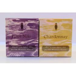 Aromatic candles, collection pinot noir, scented candles