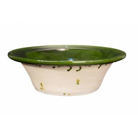 Lebrillo de cerámica artesanal