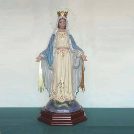 Figura de porcelana, virgen de la milagrosa. sevilla. comprar