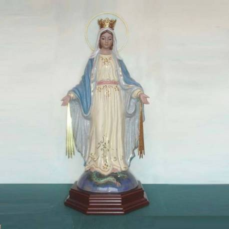 Porcelain figurines, Lady of the Miraculous. london. shop