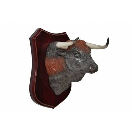 figuras de porcelana, cabeza de toro para pared, serie limitada, exclusivo