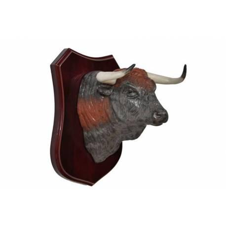 figures de porcelaine, tête de taureau espagnol, série limitée, exclusive