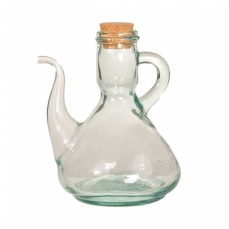 Oil handmade glass. artisanal