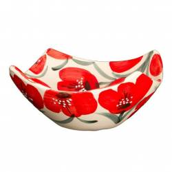 poppies bowl four peaks. handmade. buy. Seville
