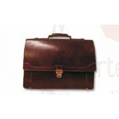Bolsa de transporte executivo de couro. feito à mão. Moda clássica. Dom. série limitada