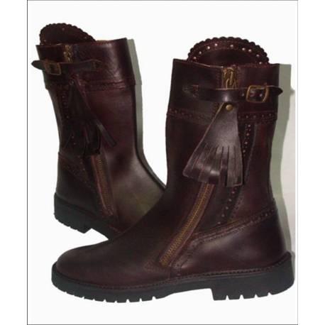 rustikale Stiefel. aus Leder. Klassiker. handgemacht. Vintage-Design. kaufen. Exklusivitat
