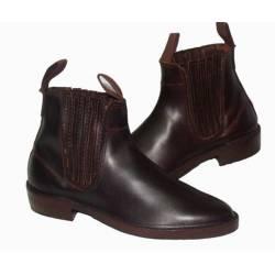 elastico alla caviglia stivali. suola in cuoio. classici. fatto a mano. design vintage. esclusivo