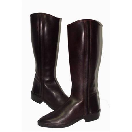 Stivali da cowboy in pelle nera stivali di archo 5326 383