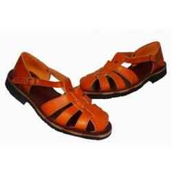 braided leather sandals. handmade. vintage design. buy. exclusivity