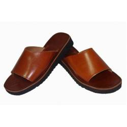 leather clogs. Open. handmade. vintage design. buy. exclusivity