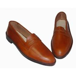 natural leather shoes. handmade. vintage design. buy. exclusivity