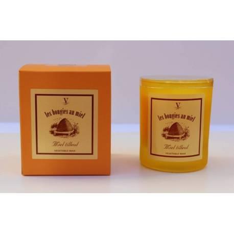 Collection Bougie au Miel tilleul, bougies parfumées